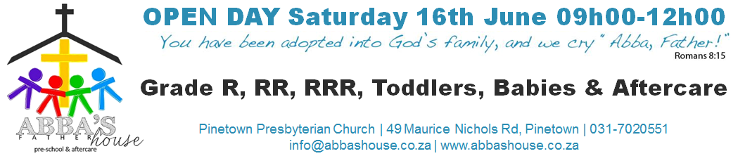 Abba's House Open Day